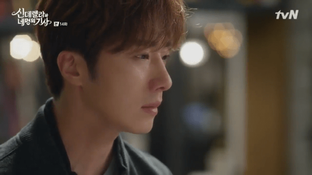 2016 9 24. Jung Il-woo in Cinderella and the Four Knights Episode 14. Cr. tvN.15