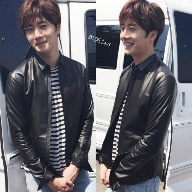 2016 9 26 Jung Il-woo in Cinderella and the Four Knights. Behind the Scenes. Fan taken. Cr. On them. 8