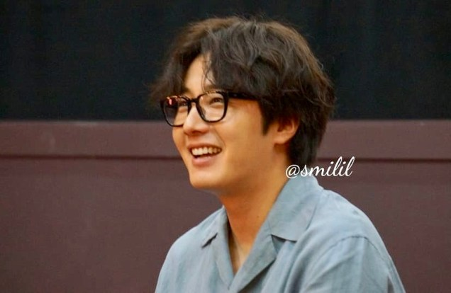 2019 7 21 Jung Il-woo at the Q & A session of the screening of the movie Black Summer. Cr. @ smilil 14