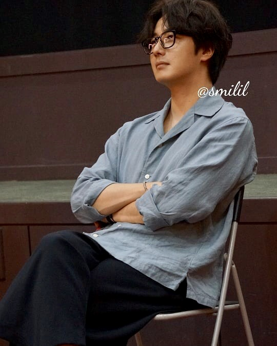 2019 7 21 Jung Il-woo at the Q & A session of the screening of the movie Black Summer. Cr. @ smilil 5