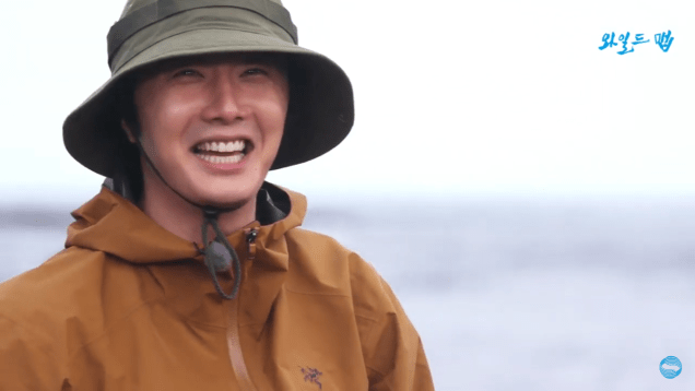 2019 7 22 Jung Il-woo Live fro KBS Wild Map. Elegant Blemmy. Live video No. 3. 11