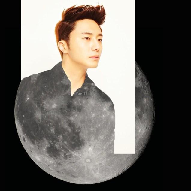 Ilwoo on the moon. Cr. Fan13 and Kwon Yoon-sung 3