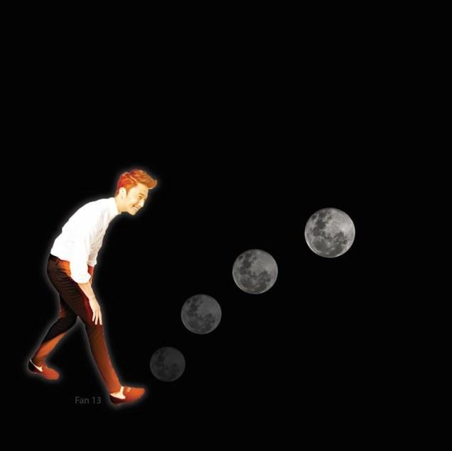 Ilwoo on the moon. Cr. Fan13 and Kwon Yoon-sung 9