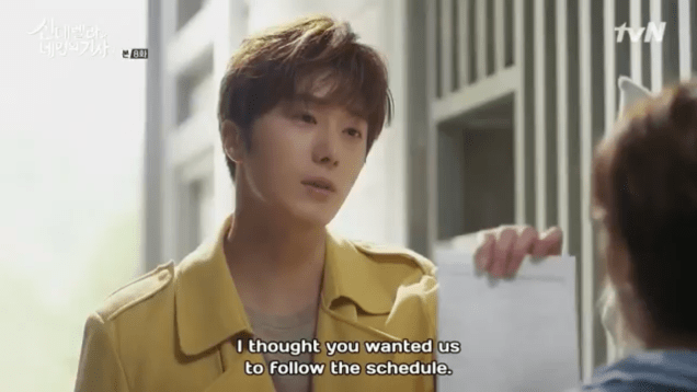 Jung Il-woo in Cinderella and the Four Knights. Episode 8. Cr. tvN Screen Captures by Fan 13. .PNG15