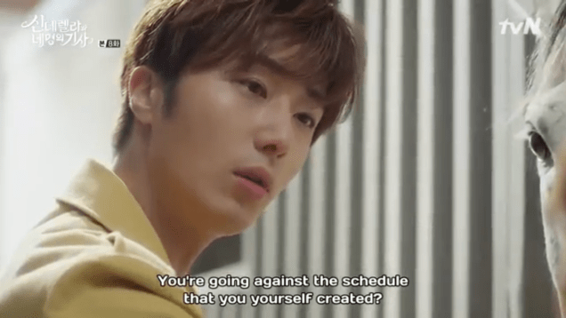 Jung Il-woo in Cinderella and the Four Knights. Episode 8. Cr. tvN Screen Captures by Fan 13. .PNG17