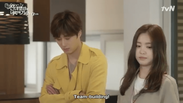 Jung Il-woo in Cinderella and the Four Knights. Episode 8. Cr. tvN Screen Captures by Fan 13. .PNG22