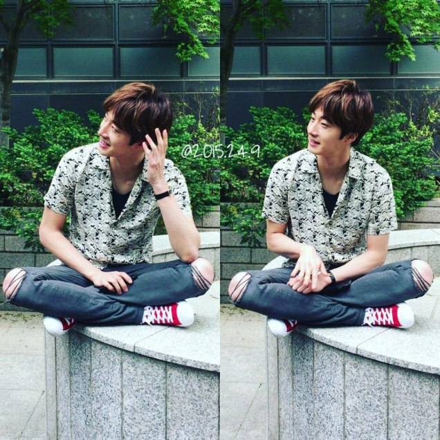 2016 5 Jung Il-woo in Cinderella and the Four Knights Episode 1. Fan Taken. Cr. On Photo. 32