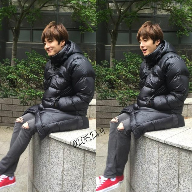 2016 5 Jung Il-woo in Cinderella and the Four Knights Episode 1. Fan Taken. Cr. On Photo. 51