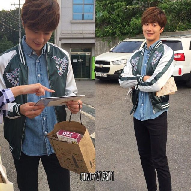 2016 Jung Il-woo in Cinderella and the Four Knights Behind the Scenes. Cr. Cindy012619. 4