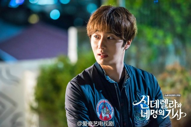2016 Jung Il-woo in Cinderella and the Four Knights. Behind the Scenes. Website. Cr. tvN EX2