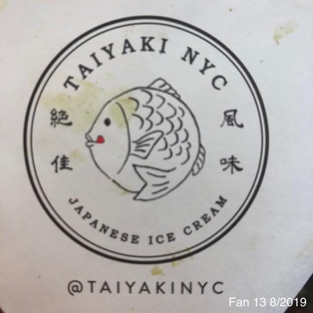 2019 8 16 Fishy Ice Cream at Taiyaki NYC. 6