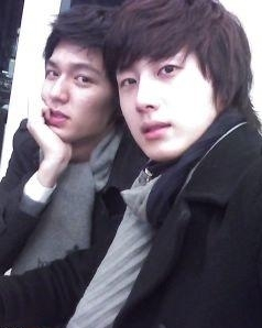 Jung Il-woo and Lee Min-ho.