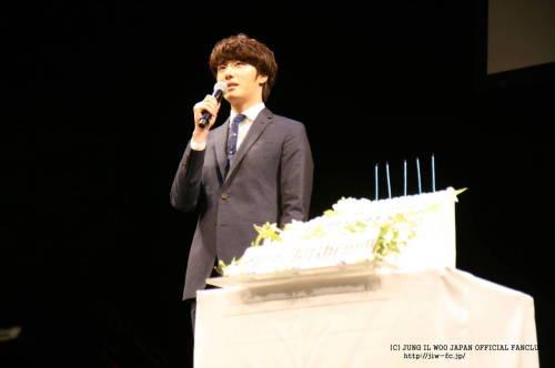 2012 9 9 Jung II-woo at Smilwoo's Inauguration: Fanmeet Birthday 00009