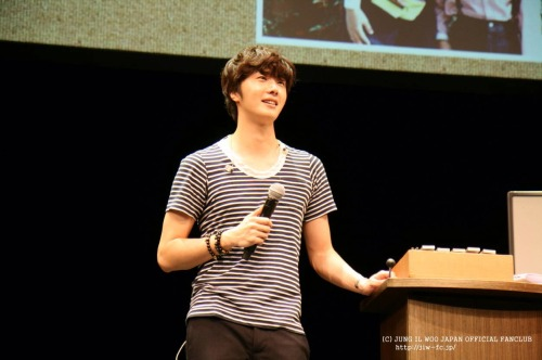 2012 9 9 Jung II-woo practicing for Smilwoo's Inauguration: Fanmeet Birthday 00003