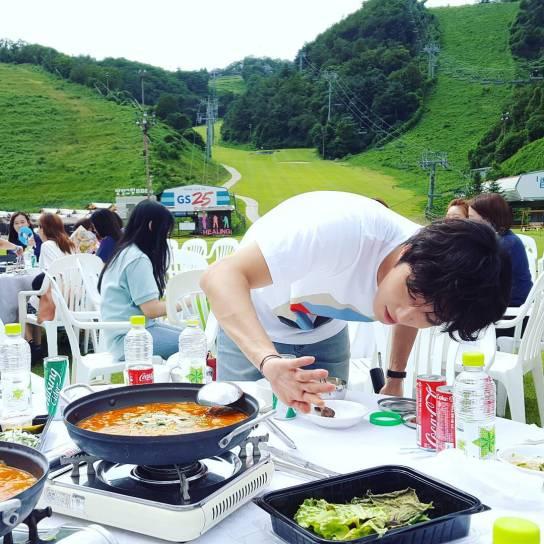 2016 9 4 Jung Il-woo Fan Meeting: Rail Trip with Jung Il-woo. Cr. Starcast, Disparch and Jung Il-woo.com 29