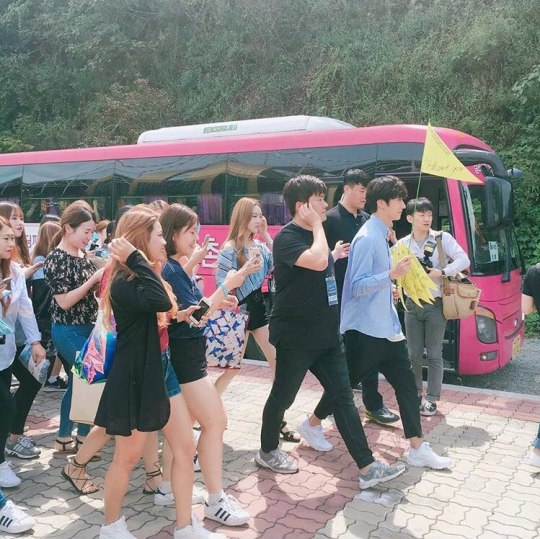 2016 9 4 Jung Il-woo Fan Meeting: Rail Trip with Jung Il-woo. Cr. Starcast, Disparch and Jung Il-woo.com 30