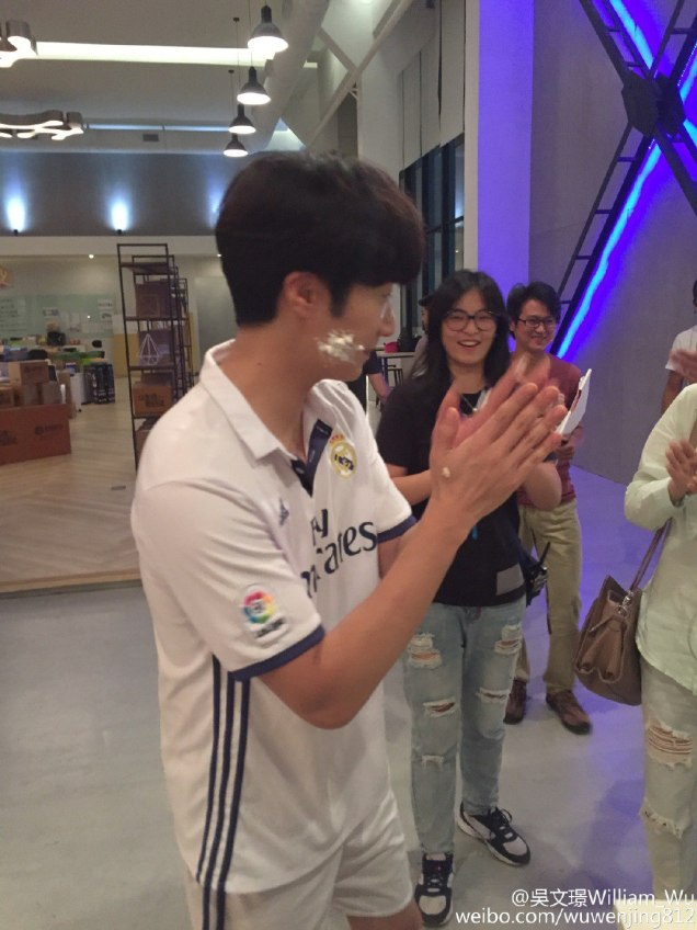 2016 Jung Il woo Celebrating his 30th Birthday on the set of The Girls' Lies. 2