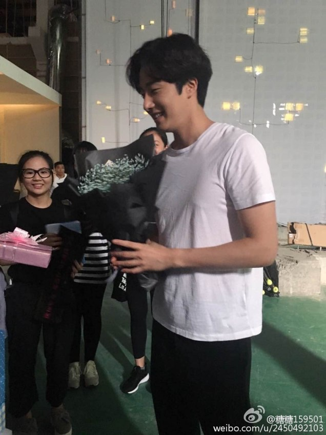 2016 Jung Il woo Celebrating his 30th Birthday on the set of The Girls' Lies. 7
