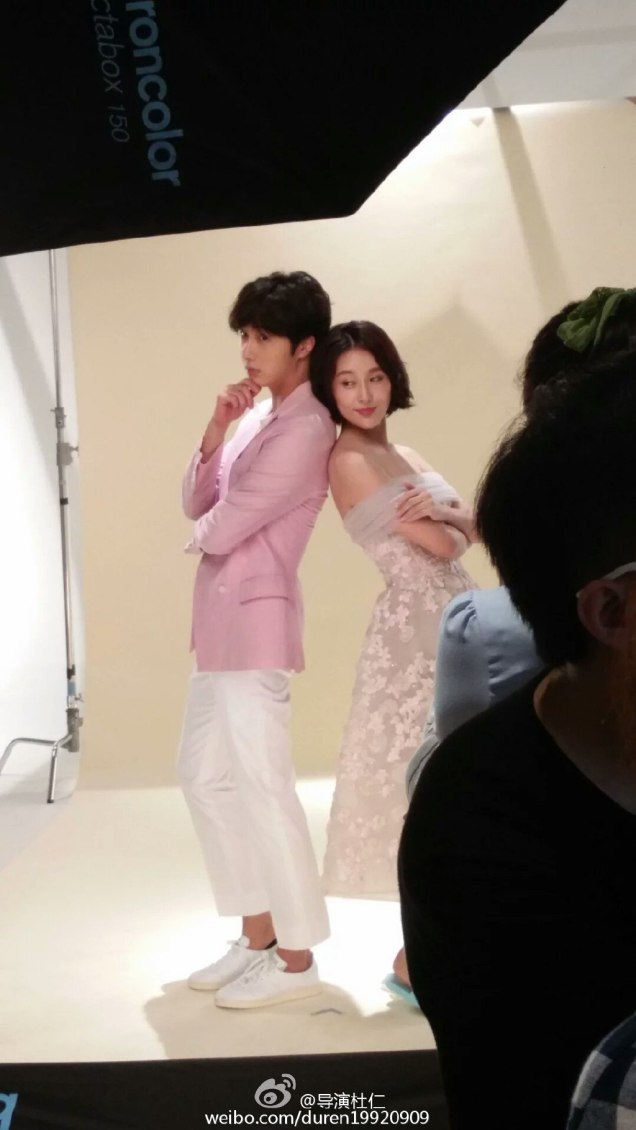 2016 Jung Il woo The Girls' Lies. Poster Photoshoot. 1