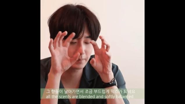 2019 9 9 Jung Il-woo's New Fragrance 'his' Cr. Kribbit 20