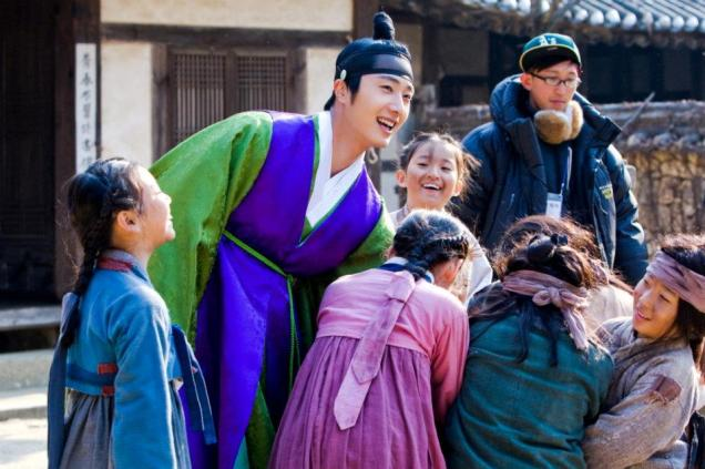 2012 Jung Il woo in The Moon That Embraces the Sun. Various. 2