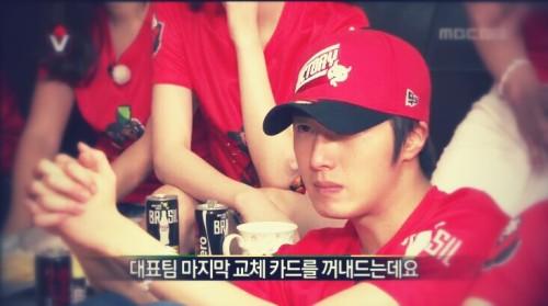 2014 6 Jung Il-woo in Infinite Challenge Cheering indoors7