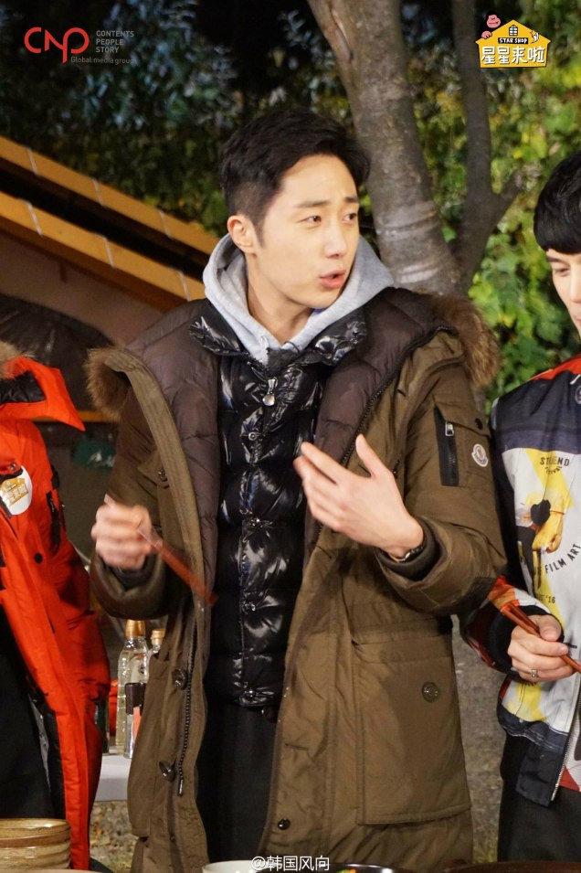 2016 11 Jung Il-woo in Star Shop. Cooking Outside. 21