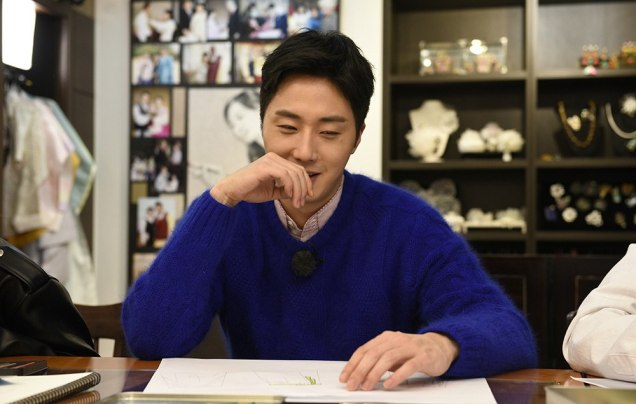 2016 11 Jung Il-woo in Star Shop. Designing Clothing. 7