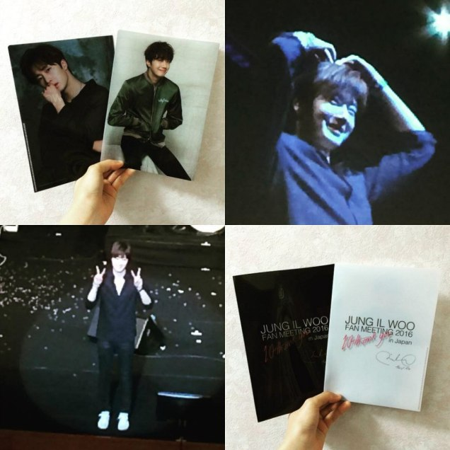 2016 Jung Il woo images with the Green Jacket from his 10th Anniversary. 7