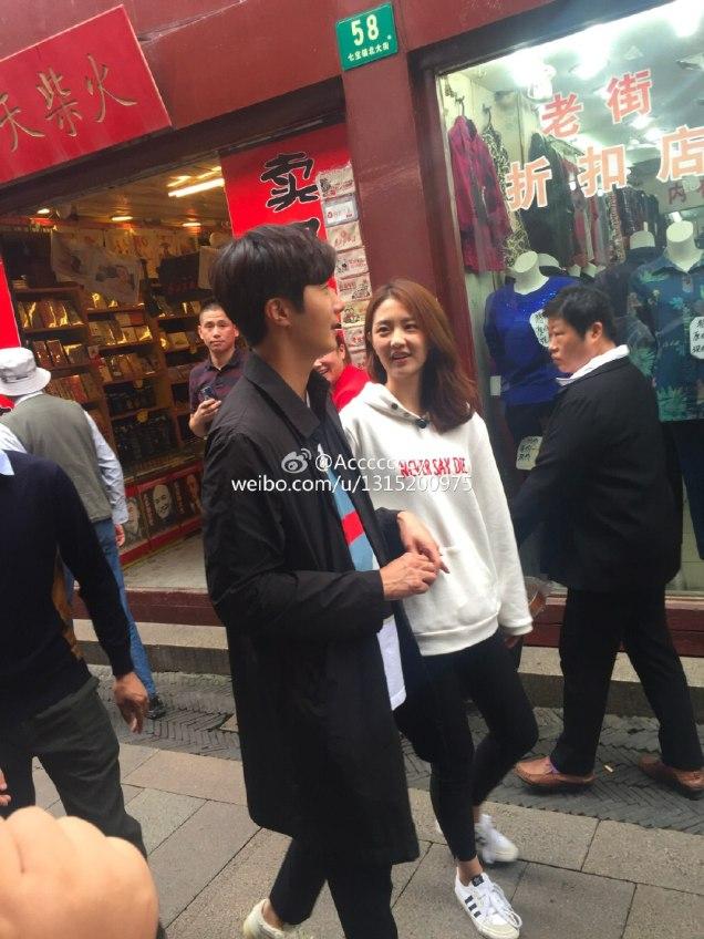 2016 Jung Il woo in Star Shop photos. Dark Gray short overcoat. 3