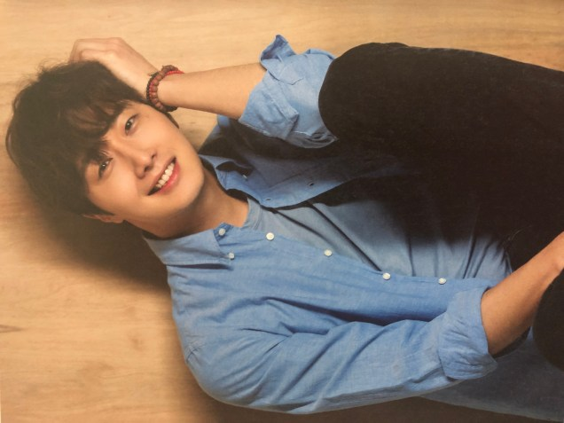 2016 Jung Il woo in the 10th Anniversary Book (in blue shirt). 5