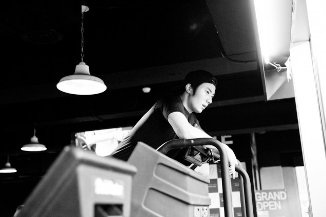 Jung Il-woo Dieting (2) in prep for NIght Watchman's Journal. 00006