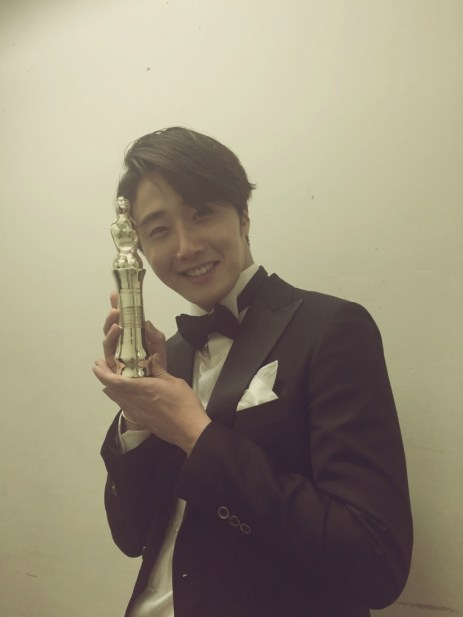 2014 12 30 Jung Il-woo at the 2014 MBC Awards Social Media Posts 2