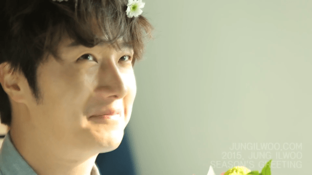 2014 12 Jung Il woo Images for his '15 Season Greetings Video. Cr.jungilwoo.com 29