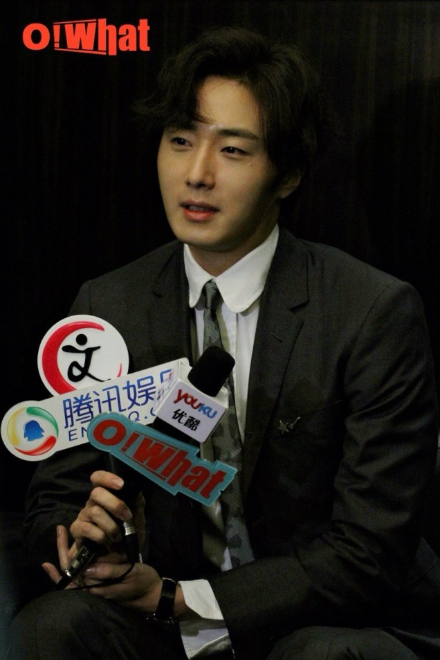 2015 10 Jung Il-woo in the Press Conference of Beautiful Woman : Beauty Dream.  Interview. 1.jpg