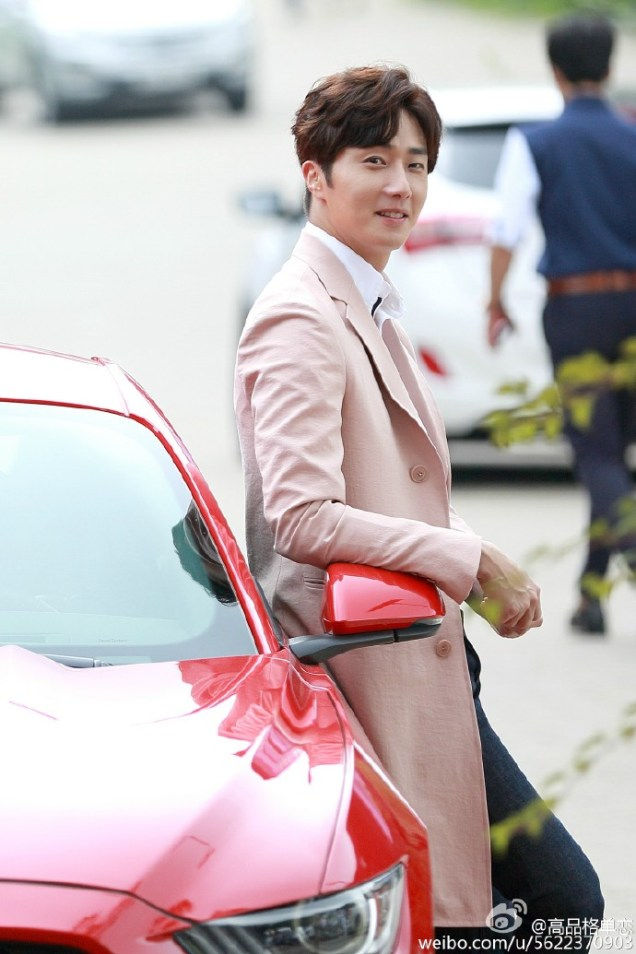 2015 Jung Il-woo in High End Crush BTS Cr. SOHU TV59