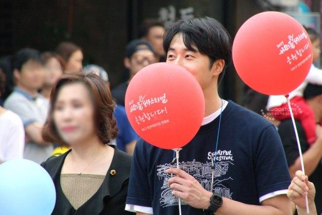 2017 9 16-24 Jung Il woo at the Seoripul Festival in Seocho. 18