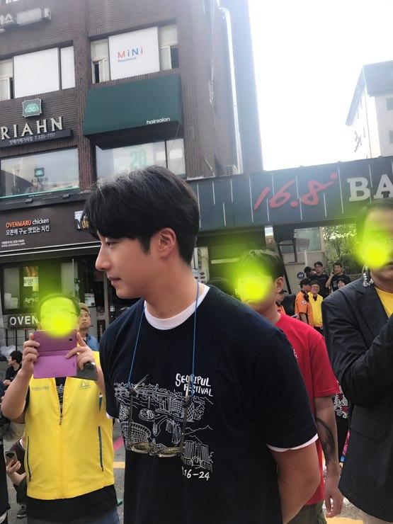 2017 9 16-24 Jung Il woo at the Seoripul Festival in Seocho. 7