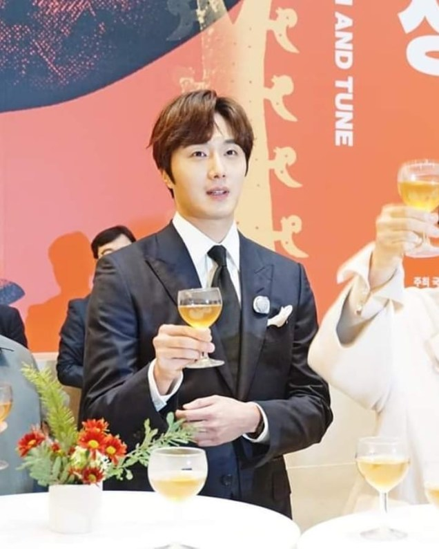 2019 12 3 Jung Il woo attending the Gaya Exhibit at the National Museum of Korea. Cr. National Museum of Korea. 6