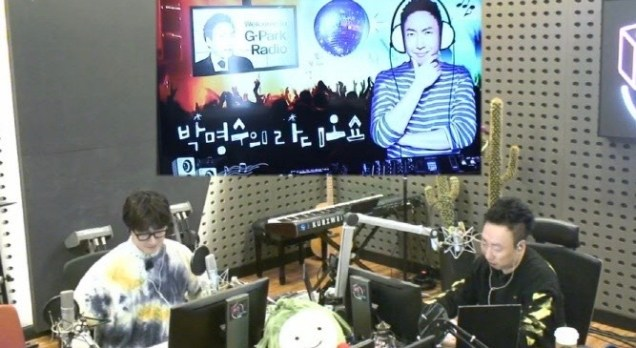2020 1 20 Jung Il woo in Park Myung-soo's Radio Show in KBS Radio. Cr. IG jiwww, IG gpark_radio and EDaily. 8