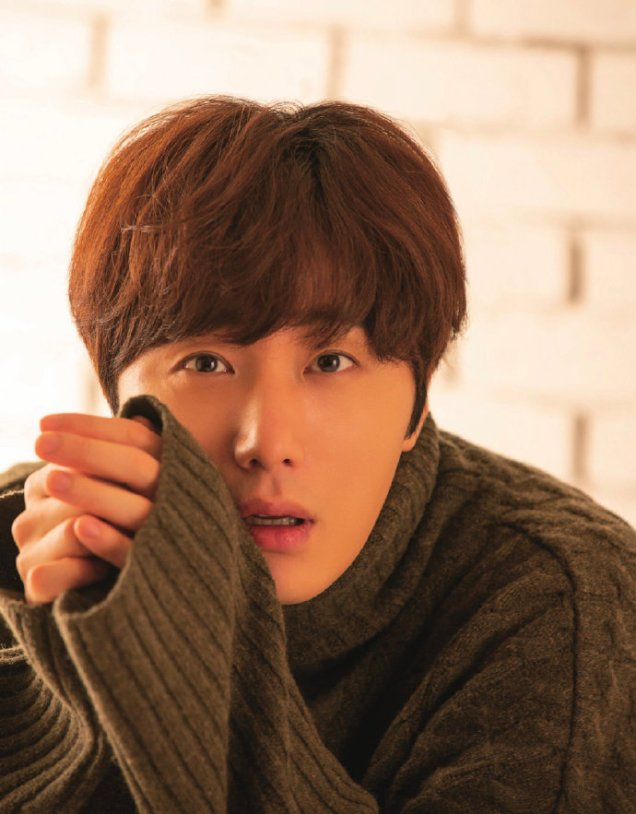 2020 1 Jung Il woo in Hanryu Pia Japanese Magazine. 1