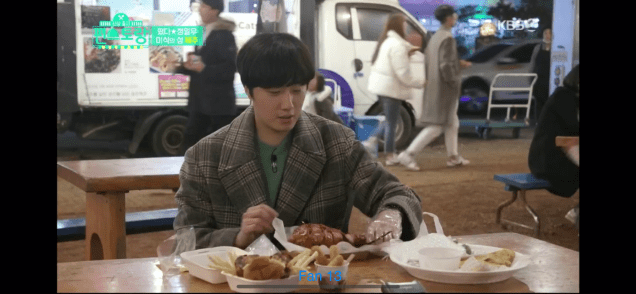 2020 1 31 Jung Il woo In Convenience Store Restaurant Episode 14. Jeju Island. Cr. KBS2 68