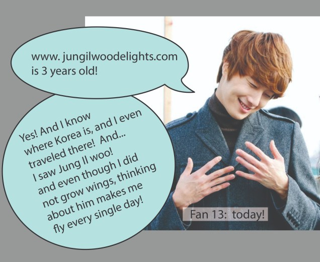 3 years of Jung Il woo Delights Part 3