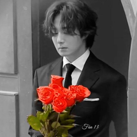 Jung Il woo and red roses. Happy Valentine's 2020! 3