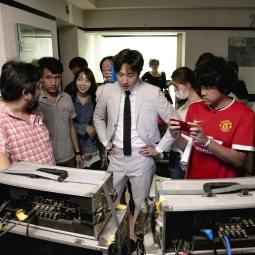 Jung Il woo in Behind the Scenes of Love and Lies. Filming Moments. 9