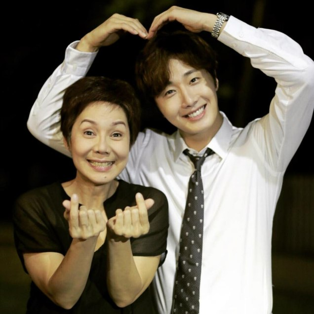 Jung Il woo in Behind the Scenes of Love and Lies. With Family. 3