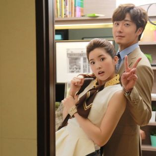 Jung Il woo in Behind the Scenes of Love and Lies. With Mild. 2