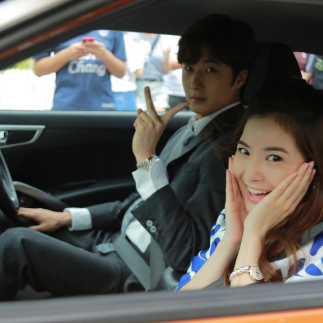 Jung Il woo in Behind the Scenes of Love and Lies. With Mild. 5