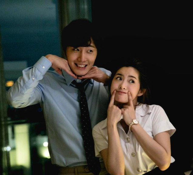 Jung Il woo in Behind the Scenes of Love and Lies. With Mild. 6