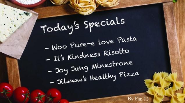 Ilwoo's Specials